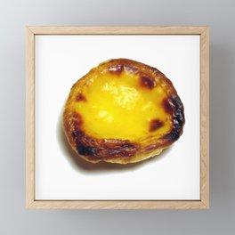 Portuguese custard tart Framed Mini Art Print