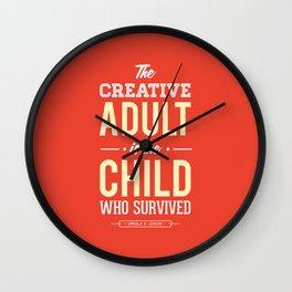 Creative Adult Wall Clock