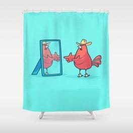 Gemini (Zodiac set) Shower Curtain