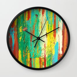 All That We See by Nadia J Art Wall Clock
