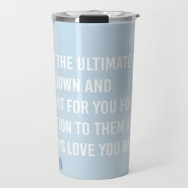 Books are the ultimate dumpees! Travel Mug