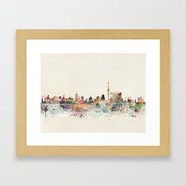 berlin germany Framed Art Print