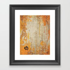 Bowl Skull I Part I Framed Art Print