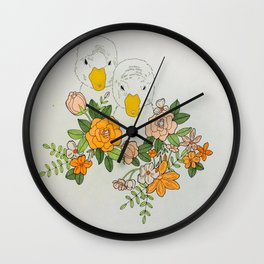 The Next Step in This Journey Wall Clock
