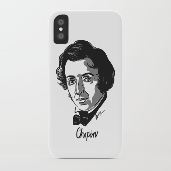 Frederic Chopin composer iPhone Case