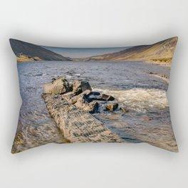 Llyn Cowlyd Snowdonia Rectangular Pillow
