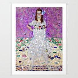 Gustav Klimt Mada Primavesi Art Print