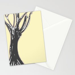 unblinking tree Stationery Cards