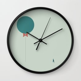 Papillon Hipster Baloon Wall Clock