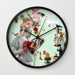 It looks like Le Chiffre Wall Clock