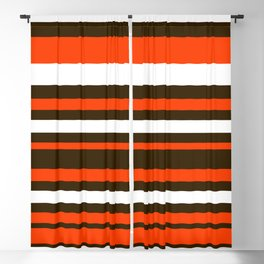 Cleveland Colors Blackout Curtain
