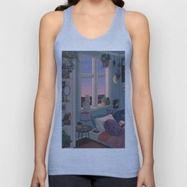 Early Morning Unisex Tank Top