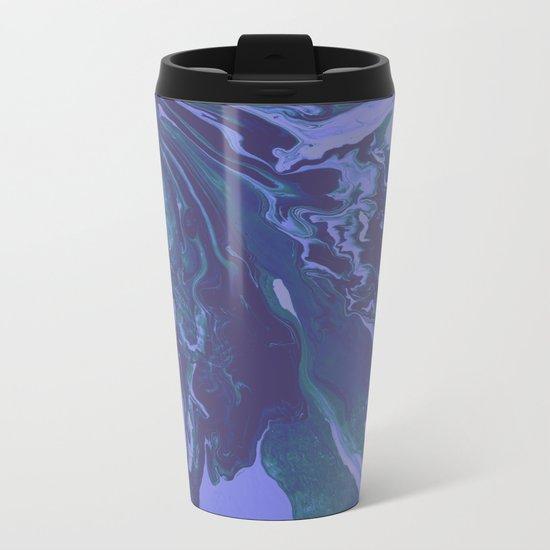 Mermaid Marble Metal Travel Mug