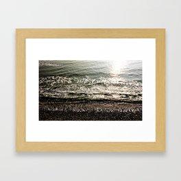 Pebs ∆ Framed Art Print