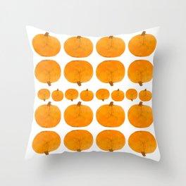 Pumpkin Pattern | Rustic Throw Pillow