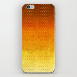 """""""Sabana Sunset Degraded Polka Dots"""" iPhone Skin"""