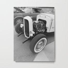 Hot Rods & Whitewalls Metal Print