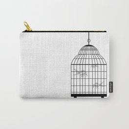 koi in cage Carry-All Pouch