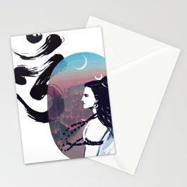 Moon Rising Ohm Stationery Cards