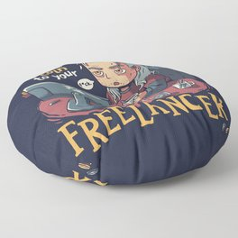 Toss a Coin to your Freelancer // Work from Home, Witcher Geralt Floor Pillow