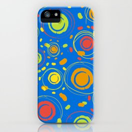 Patio Lantens Blue iPhone Case