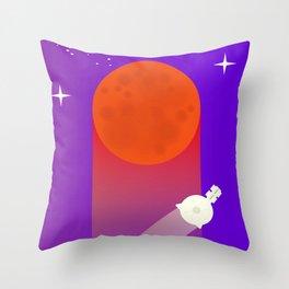 New Horizons Pluto Grand Flypast Throw Pillow