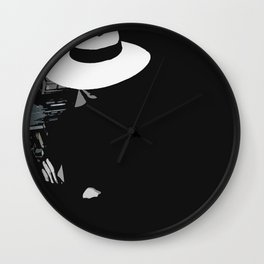 Silent world Wall Clock