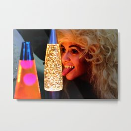 From A Proud Vampire Lineage of Qualified Lava Lamp Inspectors Metal Print