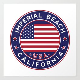 Imperial Beach, California Art Print