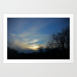 Skyview at Meadowview Art Print