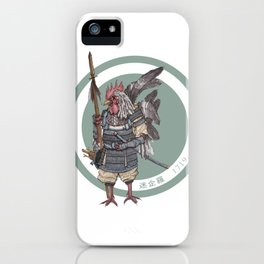 Zodiac - Divine General Hahn iPhone Case