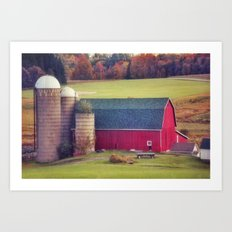 Afternoon in the Country Art Print