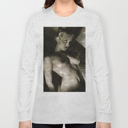 Vintage Nude Long Sleeve T-shirt