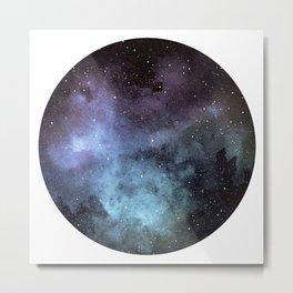 Tourmaline Nebula Metal Print