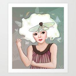 Margaret Art Print
