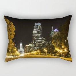 April Lights Rectangular Pillow