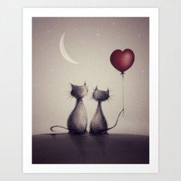 The Catkins Art Print