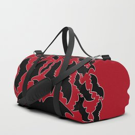 Batty Love Red Duffle Bag