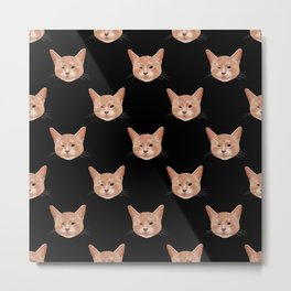 Kiki, the pretty blind cat Metal Print