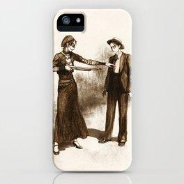 Levihan Bonnie & Clyde!AU iPhone Case