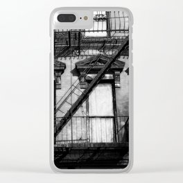 Urban Life Photography Clear iPhone Case