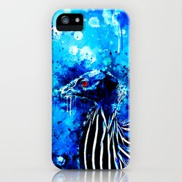 vulturine guineafowl bird wsc82 iPhone Case
