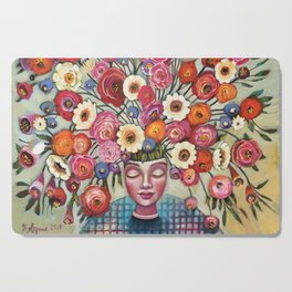 Your thoughts are seeds Cutting Board