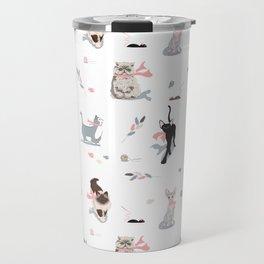 Game of cats Travel Mug