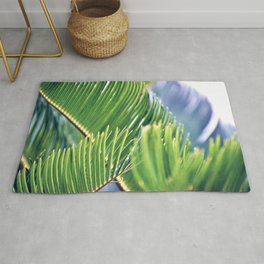 Tropical Texture Rug
