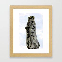 Statue of Hope Framed Art Print