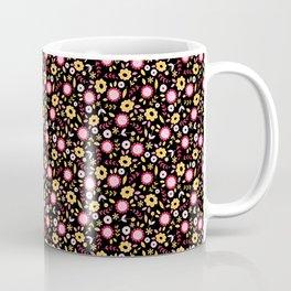 Vintage Autumn - flower pattern Coffee Mug