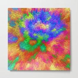 Colorfull Extrusion  Metal Print