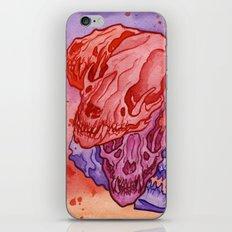Raccoon Skull iPhone & iPod Skin