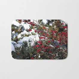 Berries and Bushes Bath Mat